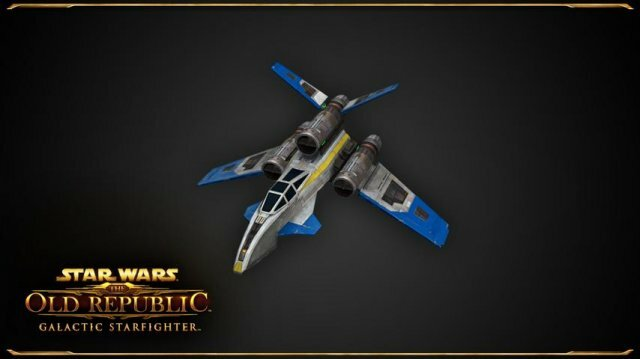 О кораблях класса Strike Fighter в Star Wars: The Old Republic